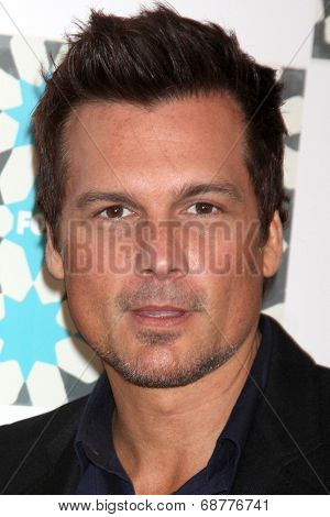 LOS ANGELES - JUL 20:  Len WIseman at the FOX TCA July 2014 Party at the Soho House on July 20, 2014 in West Hollywood, CA