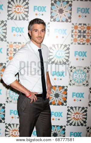 LOS ANGELES - JUL 20:  Dave Annable at the FOX TCA July 2014 Party at the Soho House on July 20, 2014 in West Hollywood, CA