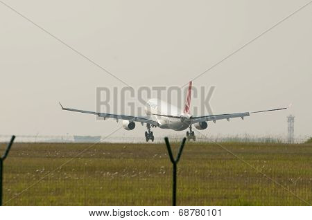 Airbus A330 343 Landed