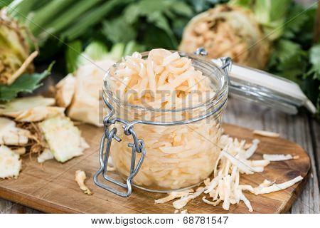 Homemade Celeriac Salad