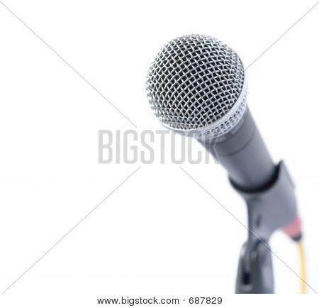 Professionelles Mikrofon
