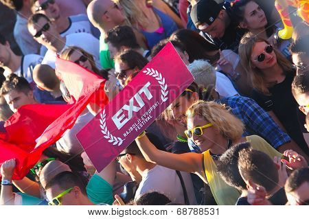 Exit Festival Crowd enjoying concert