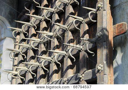Spiked Door Panel