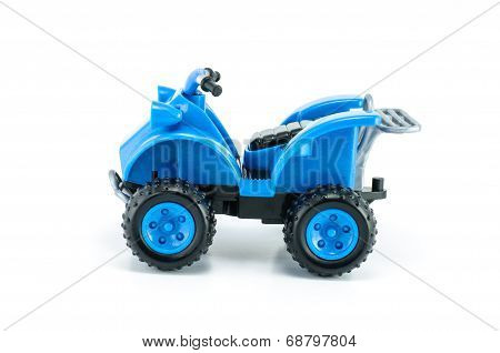 Atv Car Toy Isolated