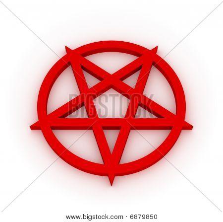 Red Pentagram