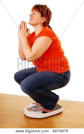 Orando por la pérdida de peso