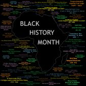 pic of nelson mandela  - Vector Illustration for black history month including names time periods and what each person did - JPG