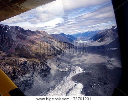 Scene From Abel Tasman Glacier