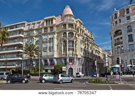 City Of Nice - Architecture Along Promenade Des Anglais