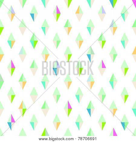 Vector seamless pattern. Modern style.  Geometric shapes