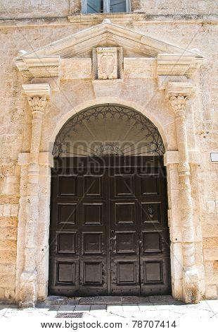Viti palace. Altamura. Puglia. Italy.