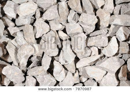 Gray Crushed Stone Background