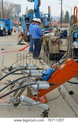 Utility Company Electricians
