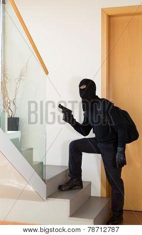 Burglar Stealing