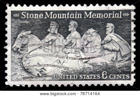 Robert E. Lee, Jefferson Davis And Stonewall Jackson