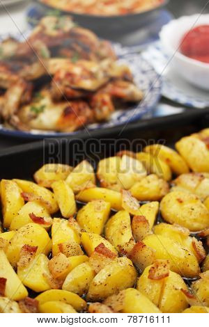 Potato Stew In The Oven