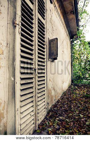 Old Shutter Doors