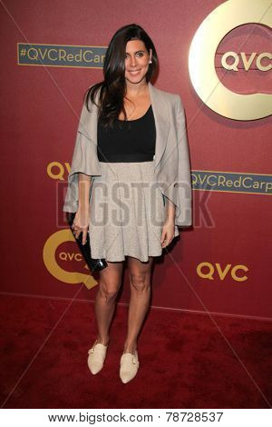 LOS ANGELES - MAR 1:  Jamie Lynn Sigler at the QVC 5th Annual Red Carpet Style Event at the Four Seasons Hotel on March 1, 2014 in Beverly Hills, CA