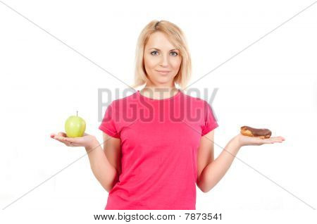 Woman On A Diet