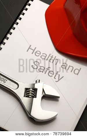 Register With Helmet And Spanner
