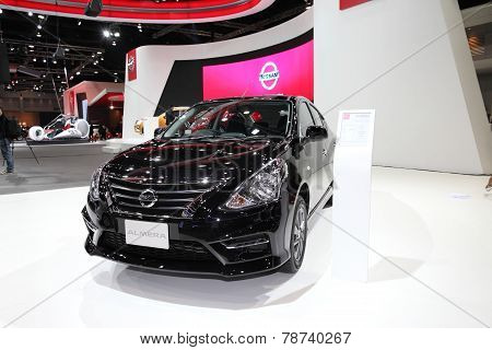 Bangkok - November 28: Nissan Almera Car On Display At The Motor Expo 2014 On November 28, 2014 In B
