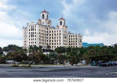 Hotel National Cuba on a sunny day