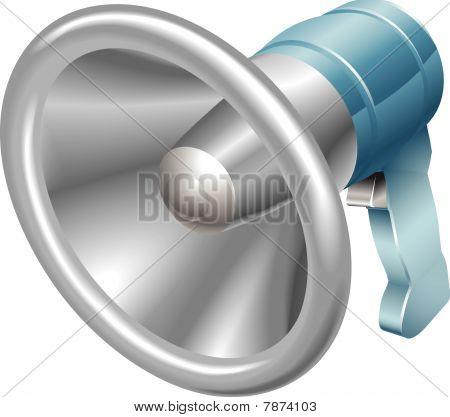 Bullhorn megafoon luidspreker Loudhailer