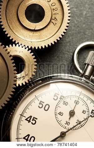 Mechanical Ratchets And Stopwatch
