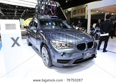 Bangkok - November 28:  Bmw X1 Sdrive 18I  Car On Display At The Motor Expo 2014 On November 28, 201