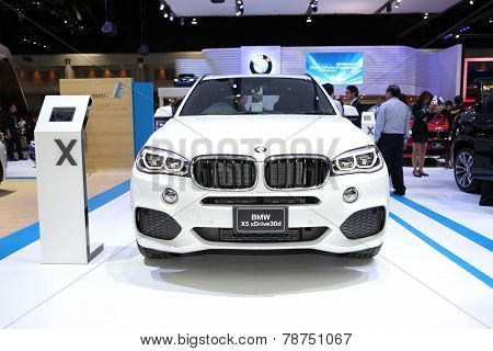 Bangkok - November 28: Bmw X5 Xdrive30D  Car On Display At The Motor Expo 2014 On November 28, 2014