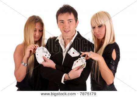 Magician Make Performance Cards