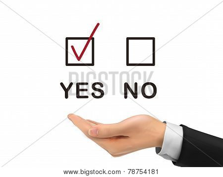 Yes Chosen By Realistic Hand