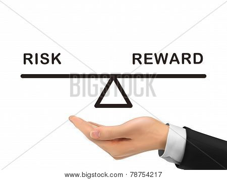 Balance Between Risk And Reward Holding By Realistic Hand