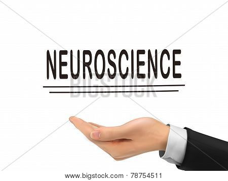 Neuroscience Word Holding By Realistic Hand