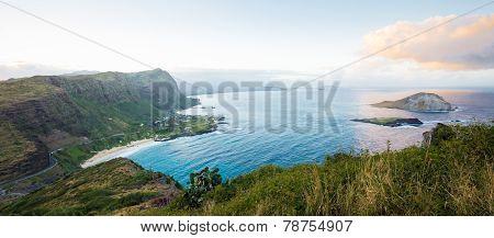 Panorama of South Shore Oahu