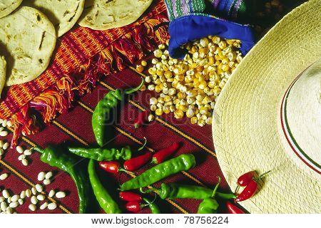 Guatemalan And Mexican Food