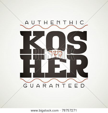 Kosher sign