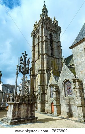 The Parish Of Saint-thegonnec, Brittany, France.