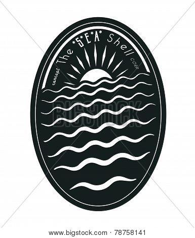 Oval emblem