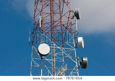 Telecommunication Tower Under Blue Sky