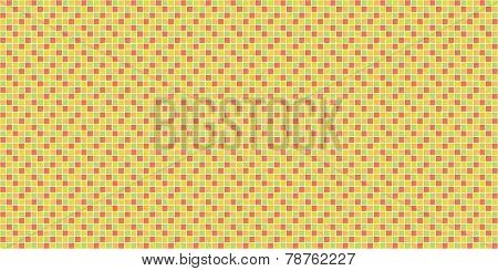 Mosaic background yellow orange
