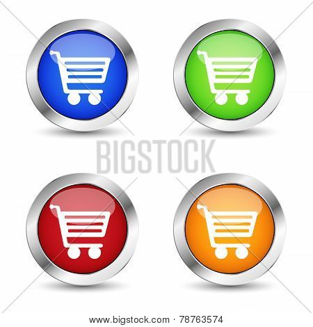 Online Shopping Web Button Set
