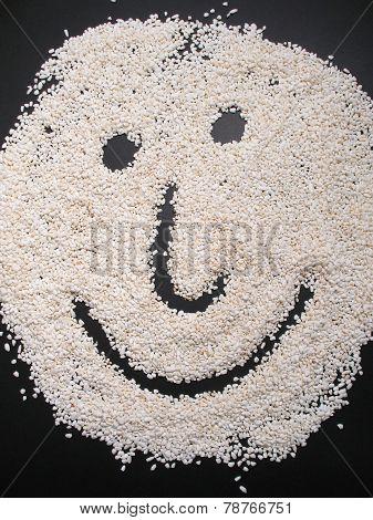 Rice face