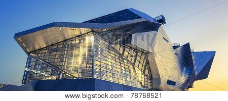Panoramic View Of Confluences Museum