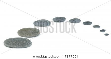 Pebble Row Isolated
