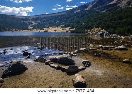 Lake At Mountain Top
