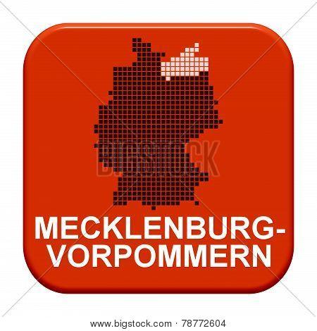 Red Button: German Region Mecklenburg-vorpommern