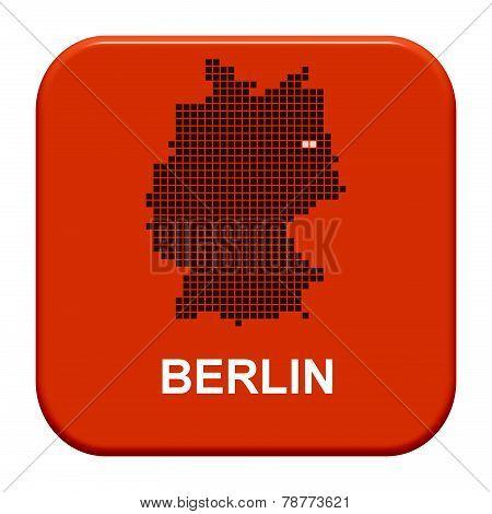 Red Button: German City Berlin
