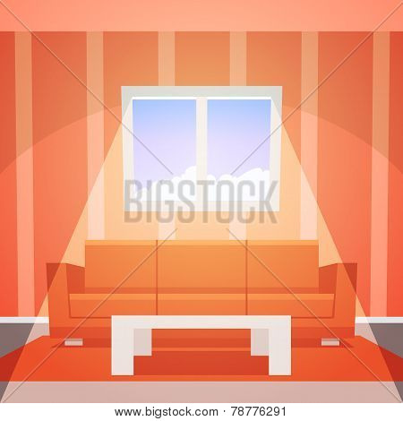 Room with window