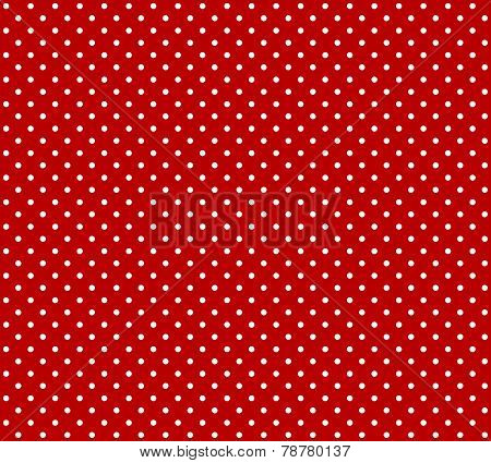Red background with dots